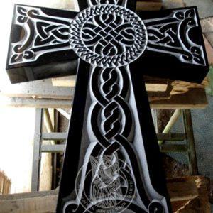 Крест Армянский из гранита  № 14