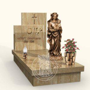 Итальянский памятник из гранита № 15