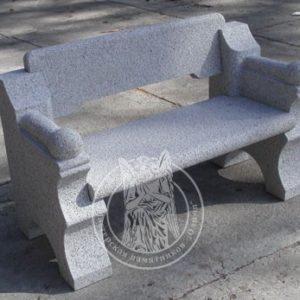 Гранитная скамейка № 25