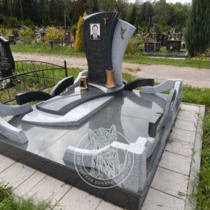 Памятник с керамикой  № 329